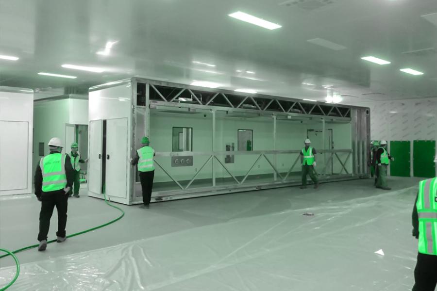 Cleanroom construction protocols