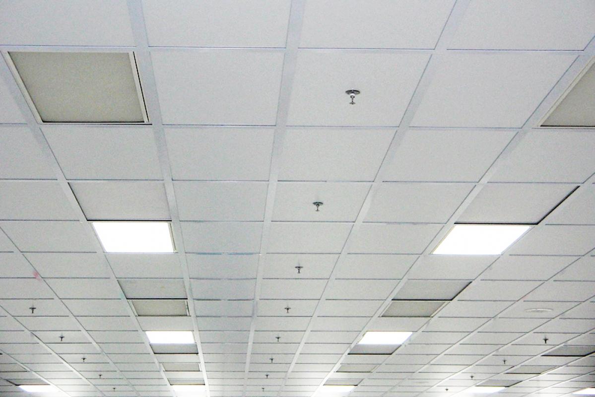 how to clean spackle ceilings