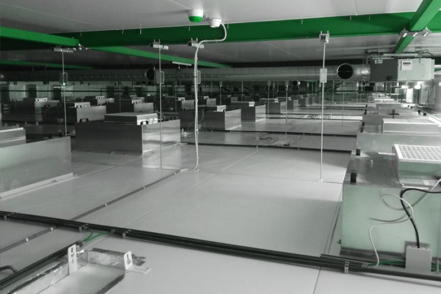 Clean Room Ventilation System
