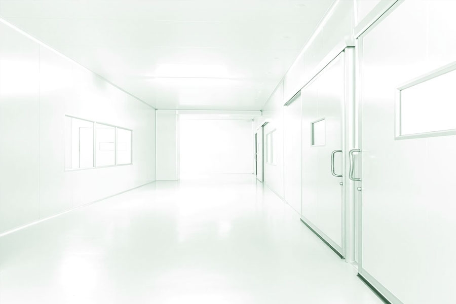 Cleanroom door for GMP pharmaceutical