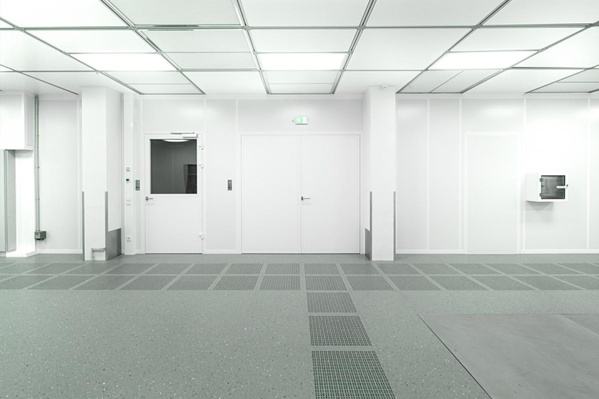 Cleanroom VCT Flooring Design