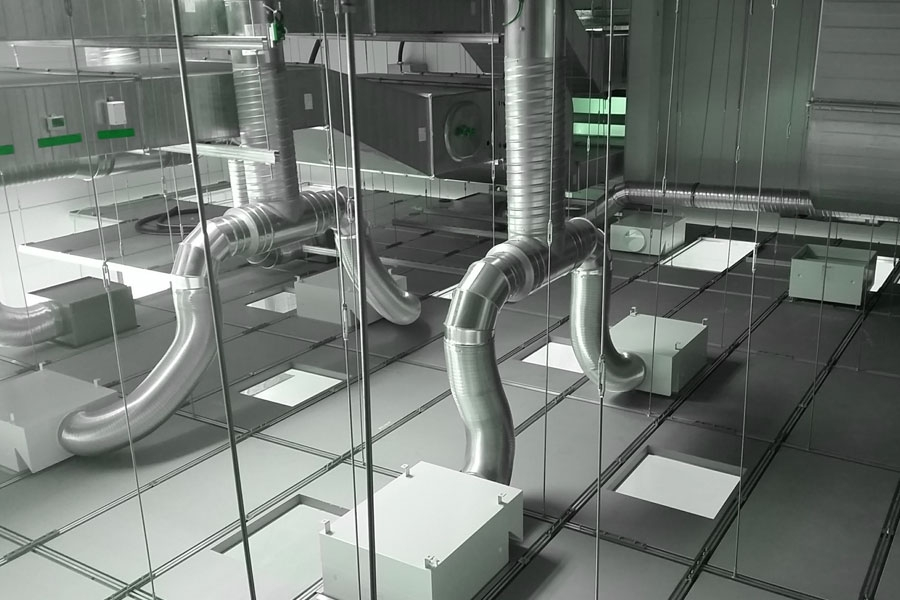 HVAC cleanroom calculation explained