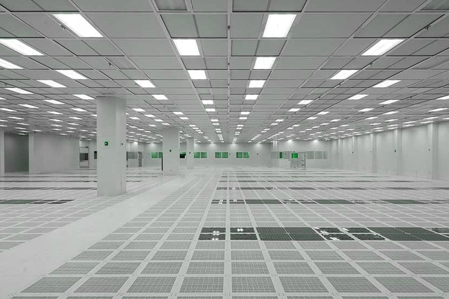 Microelectronics Cleanroom Construction