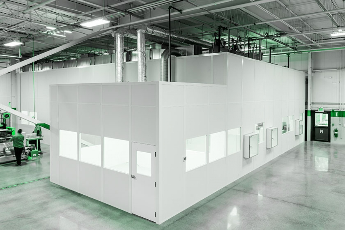 Modular cleanrooms are popular for Prefab room