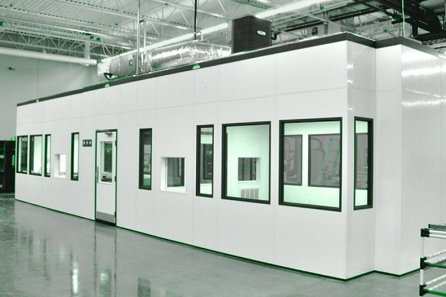 Modular Hardwall Cleanrooms
