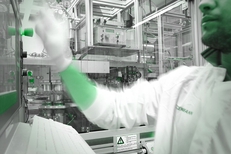 Production of Microelectronics Cleanroom