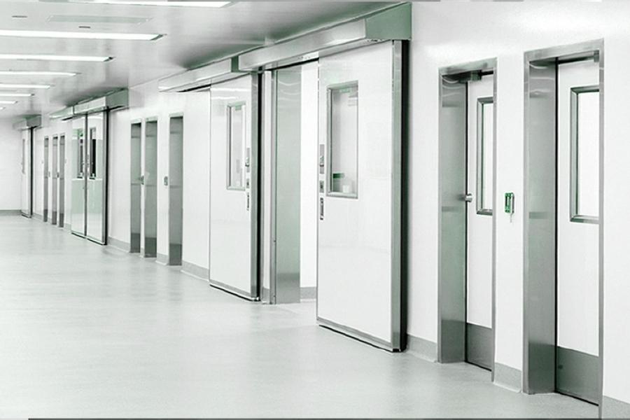 Right cleanroom doors