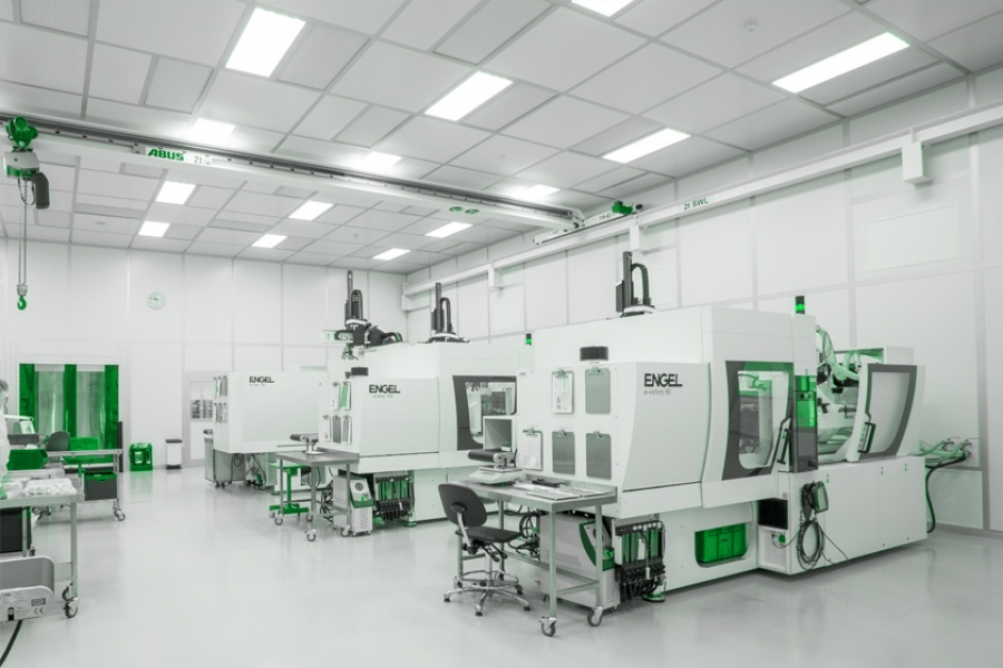 Stages of Cleanroom Construction